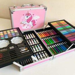 Рисование - Набор для рисования и творчества в чемоданчике Единорог (Pink), 0