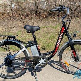 Велосипеды - Электровелосипед 350W Т-2E X385 дамский от поставщика, 0