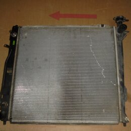 Двигатель и топливная система  - Hyundai Santa Fe 2012-2018 год Радиатор двс, 0
