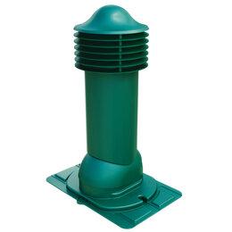 Кровля и водосток - Труба вентиляционная VIOTTO d110мм h550мм с универсальным проходным элементо..., 0