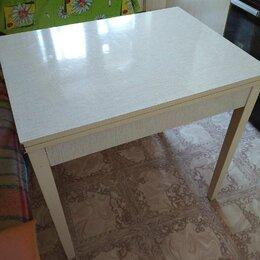 Столы и столики - Советский кухонный стол с ящиком, 0