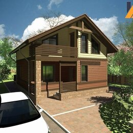 Готовые строения - Каркасный дом энергоэффективный кд-213 169.8м², 0