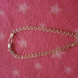Браслеты - Золотой браслет 585 ,  длина 16. 5 см. , 0