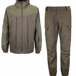 Одежда и обувь - Костюм хлопок хаки для охоты и рыбалки, 0