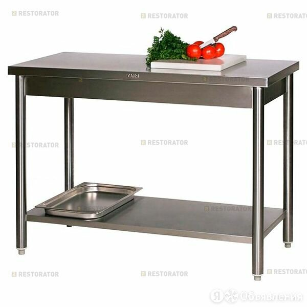 ТММ Стол производственный ТММ СРК-1/1200/600 по цене 10770₽ - Мебель для учреждений, фото 0
