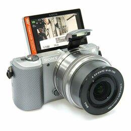 Фотоаппараты - Sony Alpha A5000 Kit 16-50 PZ + карта памяти 16гб, 0