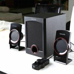 Компьютерная акустика - Колонки 2.1 Microlab M-111, 0