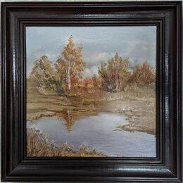"""Картины, постеры, гобелены, панно - Картина маслом """"Осень"""", 0"""