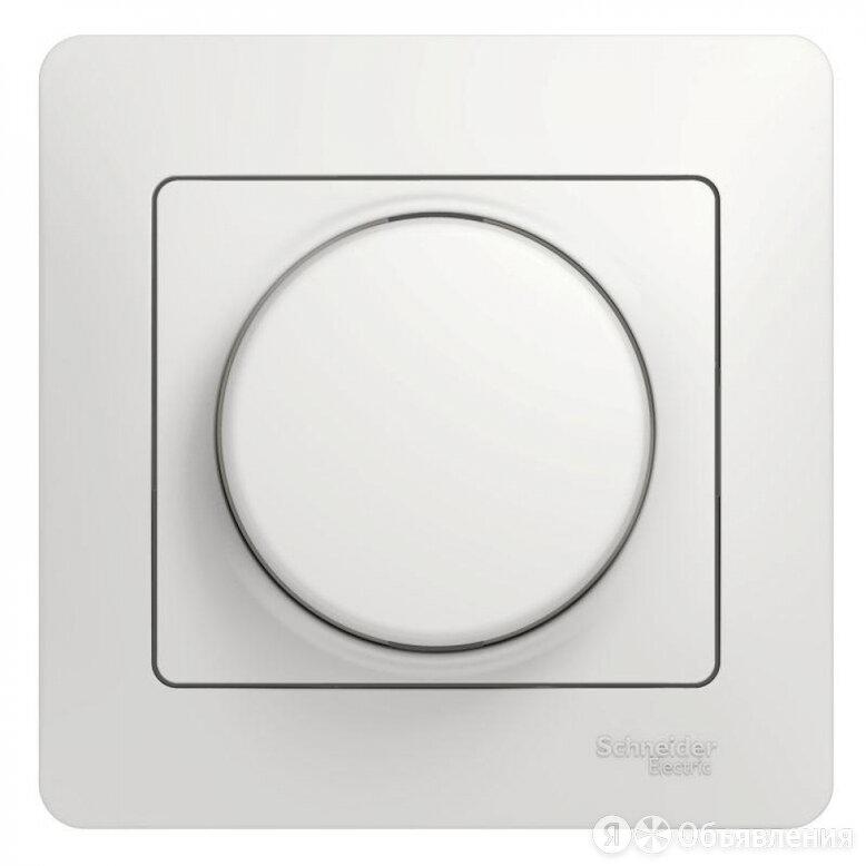 Поворотный светорегулятор Schneider Electric GLOSSA по цене 1649₽ - Электроустановочные изделия, фото 0