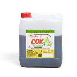 Ингредиенты для приготовления напитков - Сок концентрированный грушевый (канистра 5 кг), 0