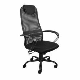 Компьютерные кресла - Кресло компьютерное AV-142 ML черная сетка, 0