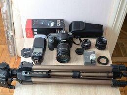 Фотоаппараты - Canon 50D большой комплект \ 3 объектива \ вспышка, 0
