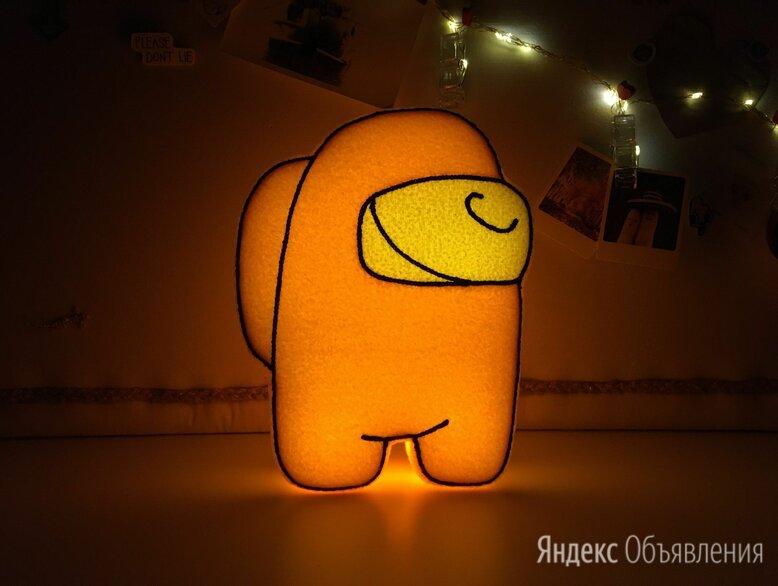 """Амонг Ас Оригинальный подарок Мягкий ночник """"Toys is..."""" по цене 2000₽ - Ночники и декоративные светильники, фото 0"""
