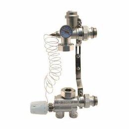 Комплектующие для радиаторов и теплых полов - Смесительный узел для теплого пола Taen + насос Wester 25-60 (комплект, в сборе), 0