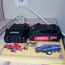 Аккумуляторы и зарядные устройства - Metabo аккумулятор 18в 2а\ч 625596000, 0