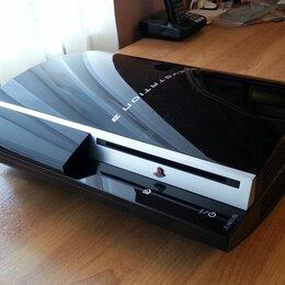 Игровые приставки - PlayStation 3 FAT + новый жёсткий диск HDD 1500 Gb, 0