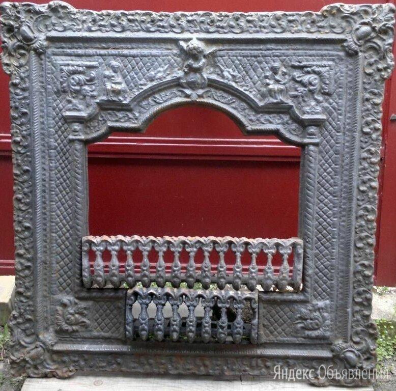 каминный портал,чугун,старинный  по цене 48000₽ - Камины и печи, фото 0