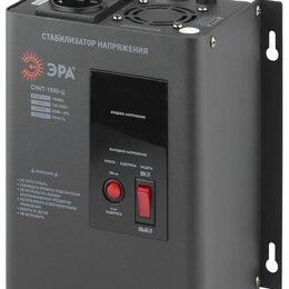 Прочее сетевое оборудование - Стабилизатор ЭРА СННТ-1500-Ц настенный цифровой 140-260В, 0
