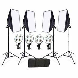 Фотовспышки - Комплект из 4-X софтбоксов, 0