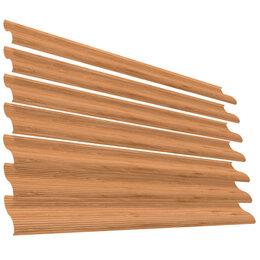Заборы, ворота и элементы - Ламель Еврожалюзи Printech Золотое Дерево3D 2-хсторонняя, 0