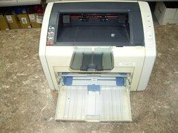 Принтеры и МФУ - Принтер HP LaserJet 1022 A4 б/у, 0