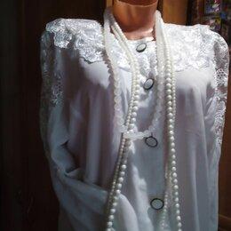 Блузки и кофточки - Блузка  шелковая  женская размер L, 0