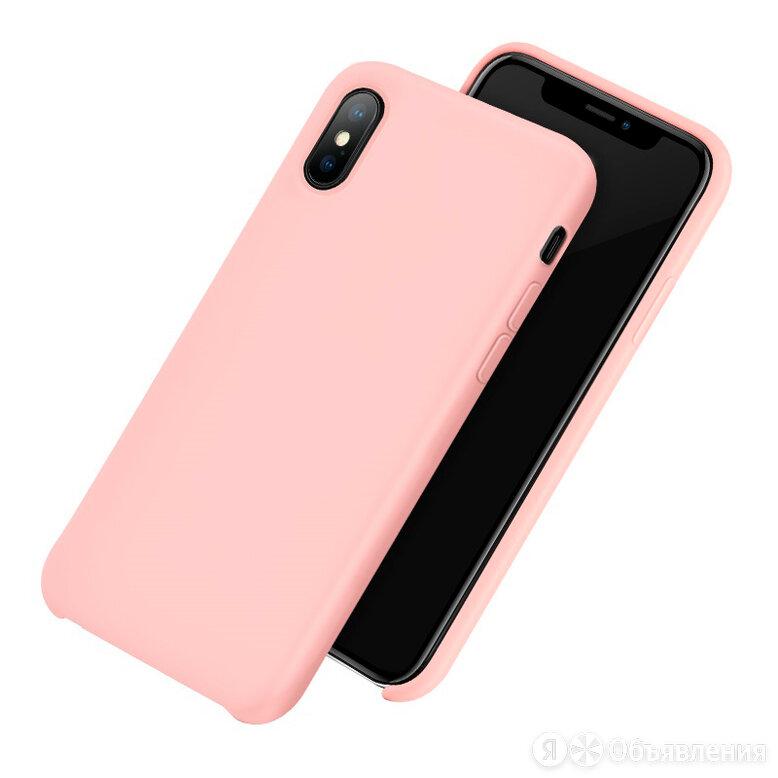 Чехол-накладка для iPhone X/XS HOCO PURE TPU розовая по цене 965₽ - Защитные пленки и стекла, фото 0
