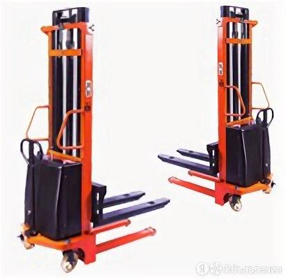 Штабелер гидравлический с электроподъемом TOR 1,0 т 2,5 м PEMS10 по цене 166192₽ - Грузоподъемное оборудование, фото 0