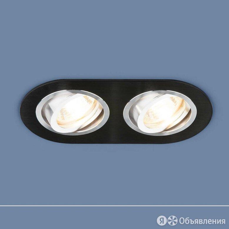 Встраиваемый светильник Elektrostandard 1061/2 MR16 BK черный 4690389095467 по цене 830₽ - Встраиваемые светильники, фото 0