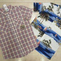 Рубашки - Рубашки летние Gap, Benetton, р.152-158, новые, 0
