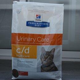 Корма  - Hills urinary care c/d корм для кошек при мкб, 0