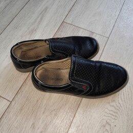 Туфли и мокасины - Мокасины детские кожаные, 0