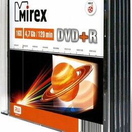 Диски - Диск Mirex DVD-R 120min/4.7Gb, 0