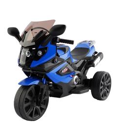 Мототехника и электровелосипеды - Электромотоцикл тв168 синий акб 2х6V4,5Ah, 0