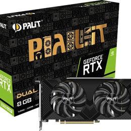Видеокарты - Видеокарта Palit GeForce RTX 2060 SUPER Dual 8GB, NE6206S018P2-1160A, 0