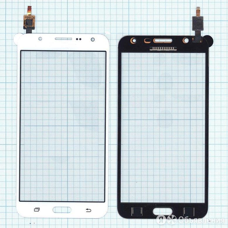 Сенсорное стекло (тачскрин) для Samsung Galaxy J7 SM-J700H белое по цене 360₽ - Защитные пленки и стекла, фото 0