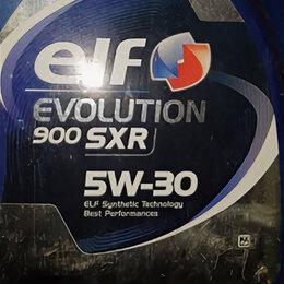 Масла, технические жидкости и химия - Elf evolution 900 sxr 5w30 5л, 0