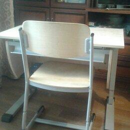 Компьютерные и письменные столы - Стол и стул с регулировкой высоты, 0