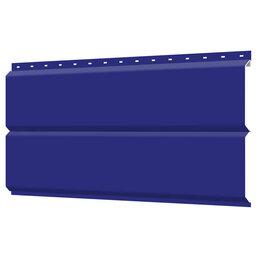 Сайдинг - Сайдинг металлический ЕВРО-БРУС под брус RAL5002 Синий ультрамарин, 0