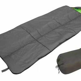 Спальные мешки - Спальный мешок БАТЫР XXL СОШ-4 (220*90) зелёный (холлофайбер) Helios, 0