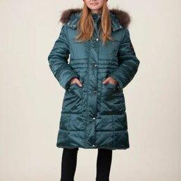 """Пальто - Пальто зимнее для девочки """"Грация"""", цвет изумрудный, арт. 05104-5, размер 38-146, 0"""