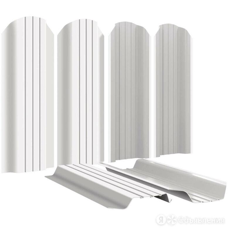 Штакетник для забора Широкий 115мм RAL9003 Белый высота 1.5 метра по цене 269₽ - Заборы, ворота и элементы, фото 0