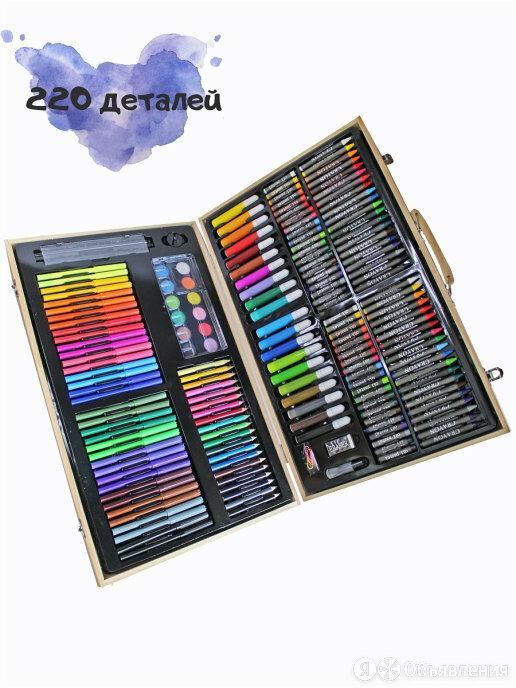 Художественный набор в деревянном чемоданчике по цене 1450₽ - Рисование, фото 0