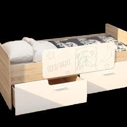 """Кровати - Кровать с бортиком и ящиками """"Умка"""", 0"""