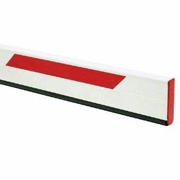 Дизайн, изготовление и реставрация товаров - Стрела прямоугольная с демпфером и светоотражающими наклейками 4815х25х90 мм, 0