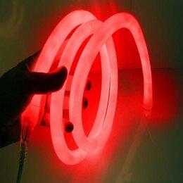 Интерьерная подсветка - Неоновая Гибкая лента Neon Flexible Strip Light, 5м, 12 ВТ, красный, 0