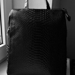 Рюкзаки - Кожаный рюкзак-антивор, 0