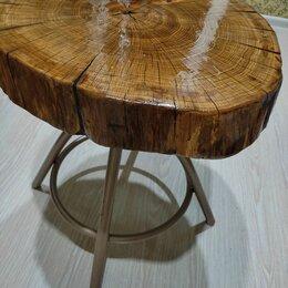 Столы и столики - Журнальный столик из спила дерева, 0