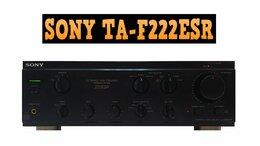 Усилители и ресиверы - Усилитель SONY TA-F222ESR в хорошем состоянии, 0