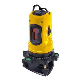 Измерительные инструменты и приборы - Лазерный уровень Deutech 2 красных луча, 0